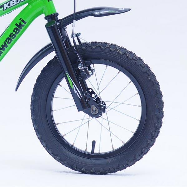 Bicicleta copii Kawasaki KBX green 14 Ironway