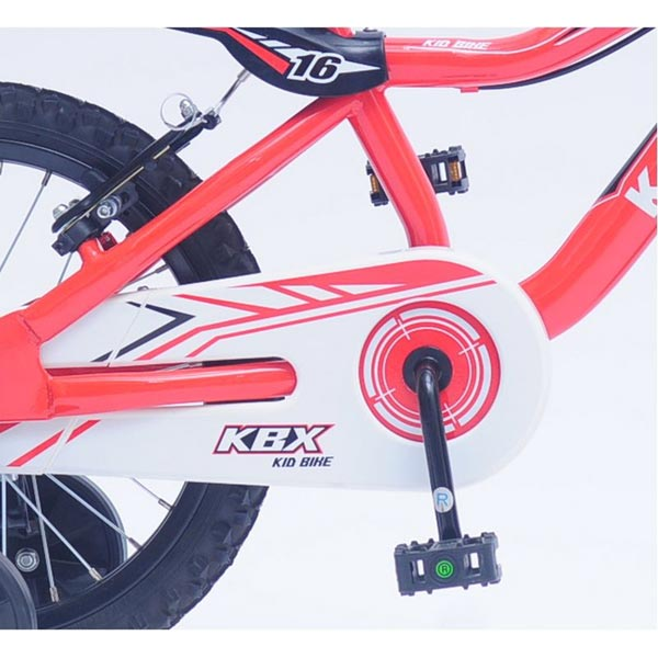 Bicicleta copii Kawasaki KBX red 16 Ironway