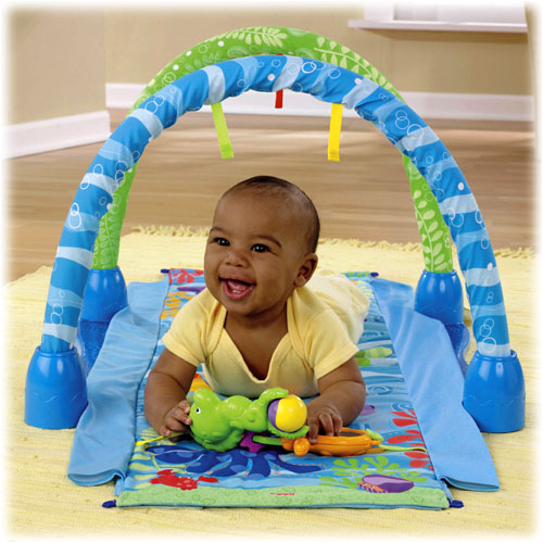 Centru activitati Ocean Wonders Kick Crawl Gym Fisher-Price