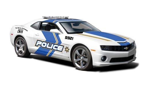 Chevrolet Camaro SS RS Police