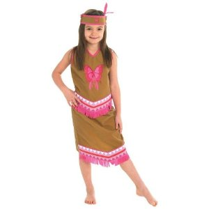 Costum de carnaval - FETITA INDIANA