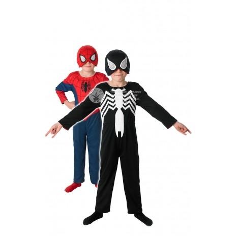 Costum de carnaval 2 in 1 - SPIDERMANSCHELET