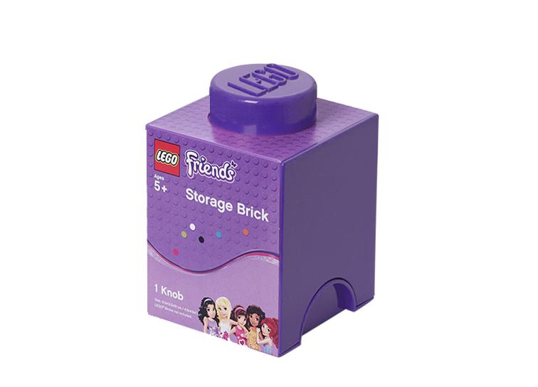 Cutie depozitare LEGO Friends 1x1 violet