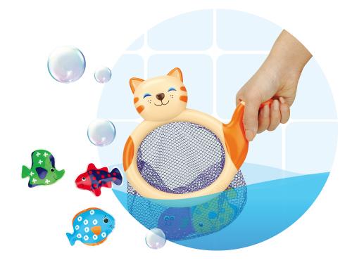Jucarie baie - Pisica Mimi cu pesti