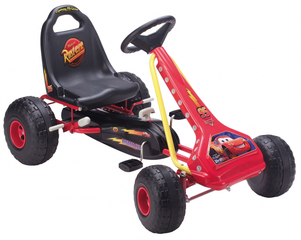 Kart pentru copii Stamp Disney Cars