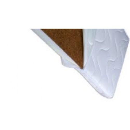 Saltea patut 127x62x12cm cocos-spuma