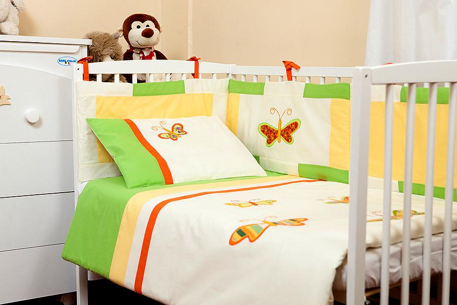 Set de pat 4 piese Butterfly