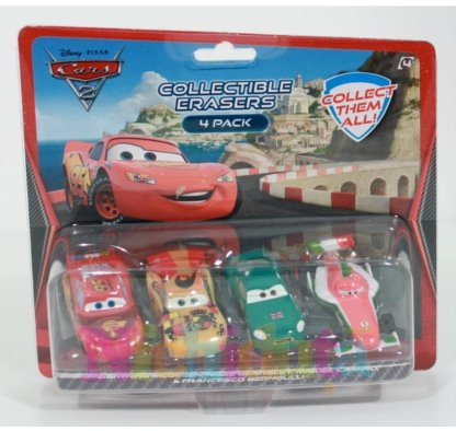 Set radiera Disney Cars