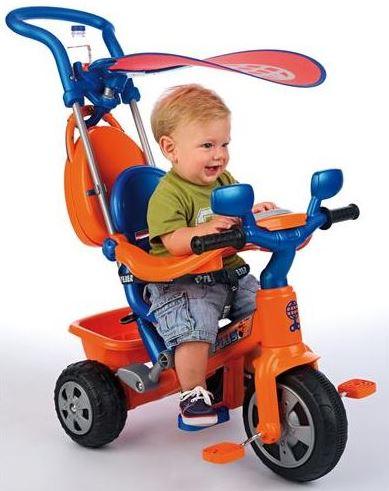 Tricicleta Baby Plus Music
