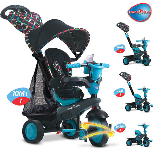 Tricicleta Smart Trike Boutique Blue