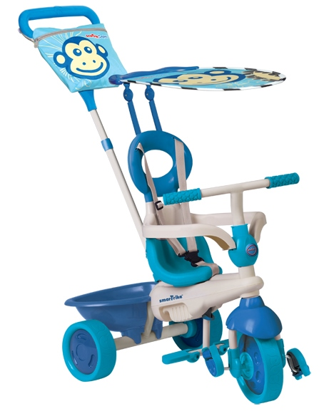 Tricicleta Smart Trike Safari Monkey