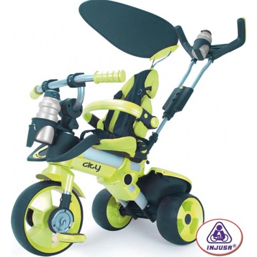 Tricicleta Pentru Copii Injusa City Green