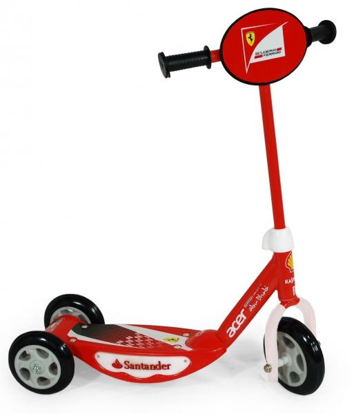 Trotineta Saica Ferrari Dlx Cu Led