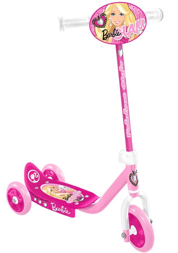 Trotineta Stamp Barbie