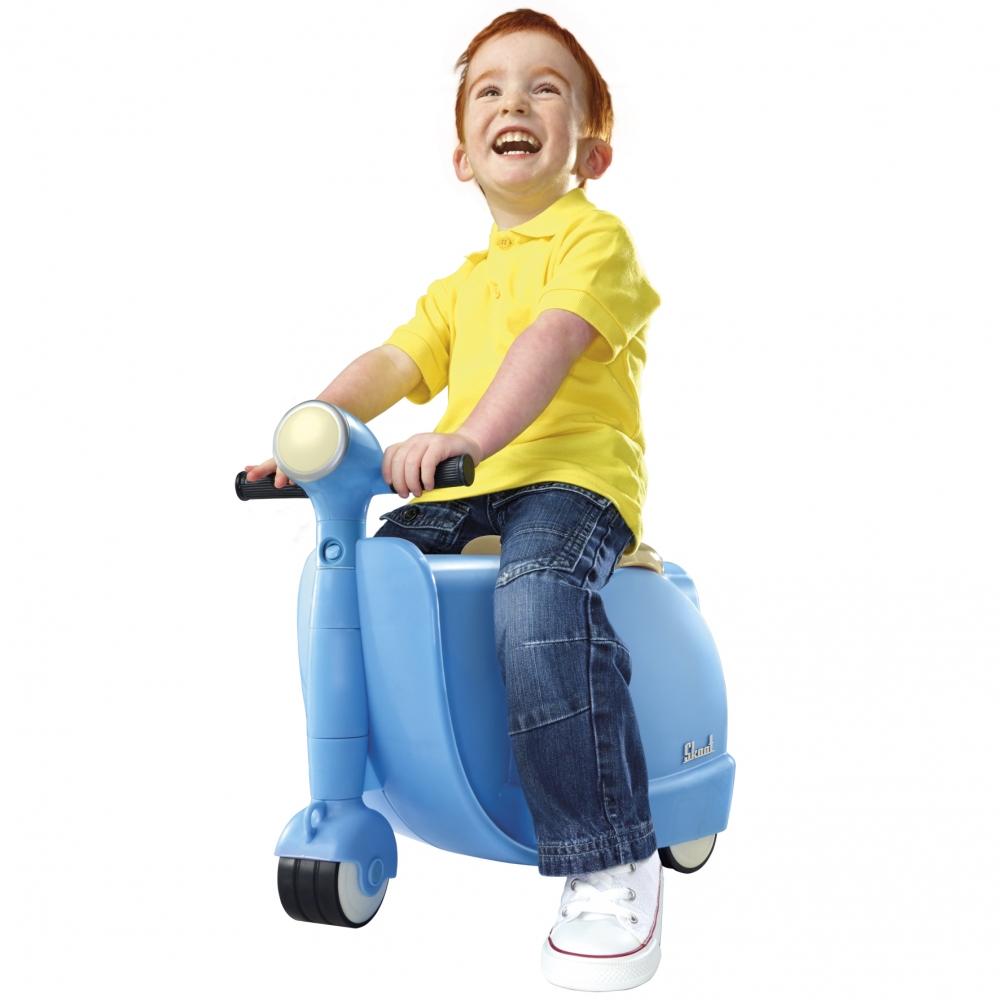 Valiza Tricicleta Skoot Blue