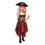 Costum de carnaval - FETITA PIRAT