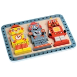 Puzzle in relief - Roboti (J07026)