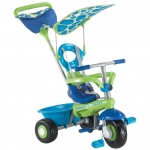 Tricicleta Smart Trike Fresh Blue Green