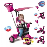 Tricicleta Smart Trike Spirit Butterfly 4 in 1
