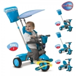 Tricicleta Smart Trike Spirit Dolphin 4 in 1