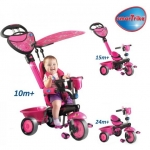 Tricicleta Smart Trike Zoo 3 in 1 Butterfly
