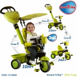 Tricicleta Smart Trike Zoo 3 in 1 Frog