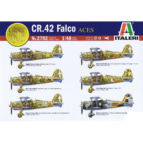 Poza Avion CR42 Falco Aces