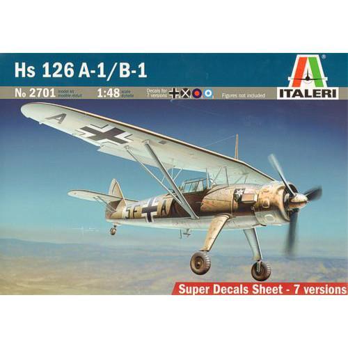 Avion de Lupta Hs 126 A-1B-1