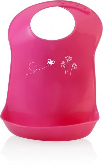 Baveta copii Miniland pink