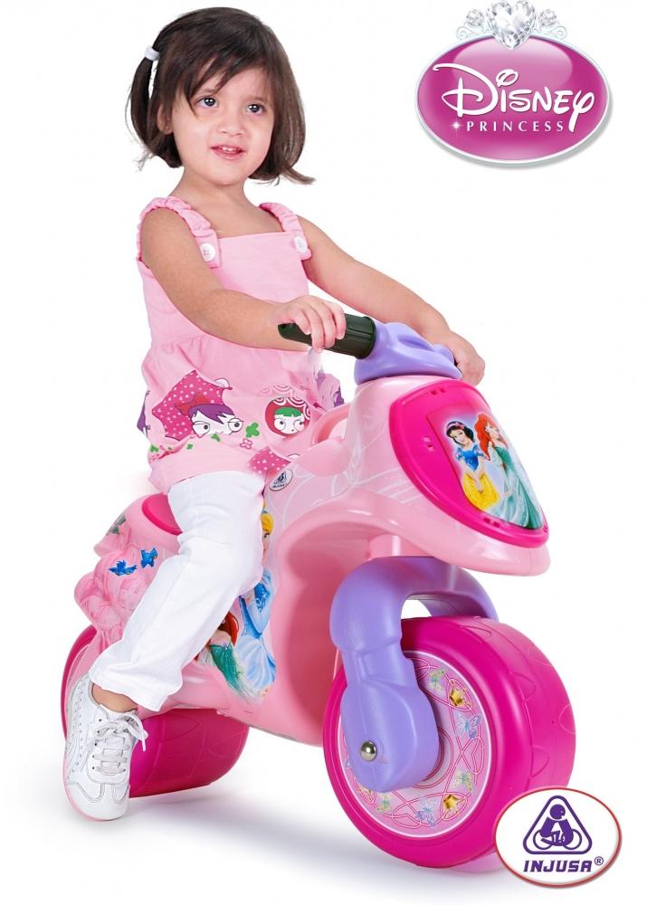 Motocicleta fara pedale Injusa Disney Princes