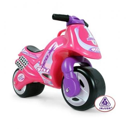 Bicicleta fara pedale Injusa Neox Girl