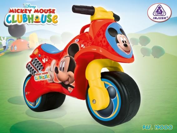 Motocicleta fara pedale Injusa Neox Mickey Clubhouse