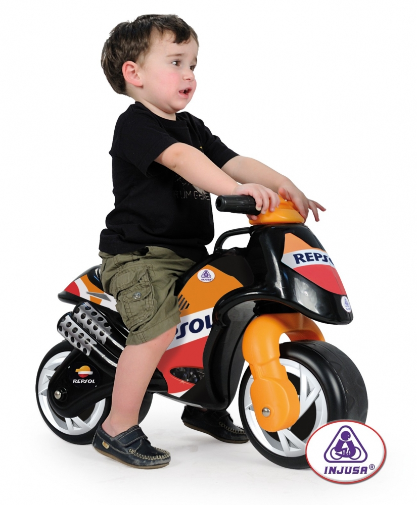 Motocicleta fara pedale Injusa Repsol Neox