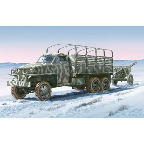 Camioneta Lend Lease U.S. cu Arma ZIS-3