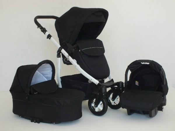 Carucioare copii Mystroll Black, Premium design