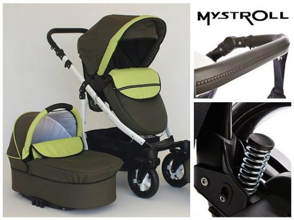 Carucioare copii Mystroll Green Forest Premium design