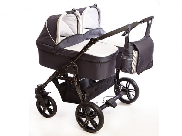 Carucioare gemeni 2 in 1 Mystroll Twins 2014 Scotia grey