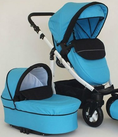Carucior 2 in 1 Mystroll bambino elegante Premium design