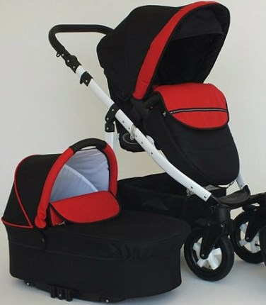 Carucior 2 in 1 Mystroll mystic red, Premium design