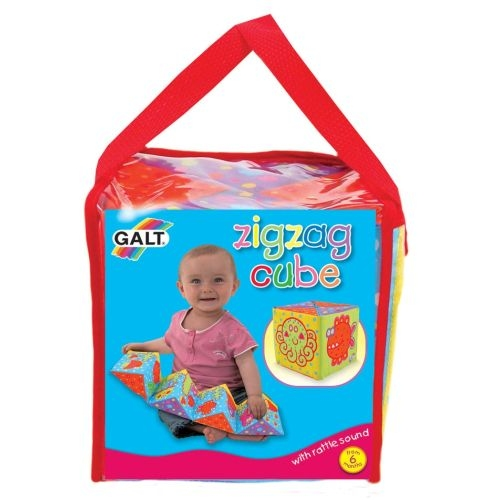 Cub Zig Zag din material moale