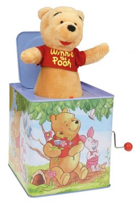 Cutiuta cu surprize Winnie the Pooh 20 cm