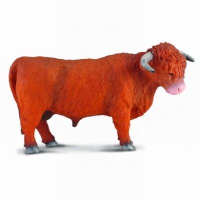 Figurine din plastic animale domestice Taur Highland