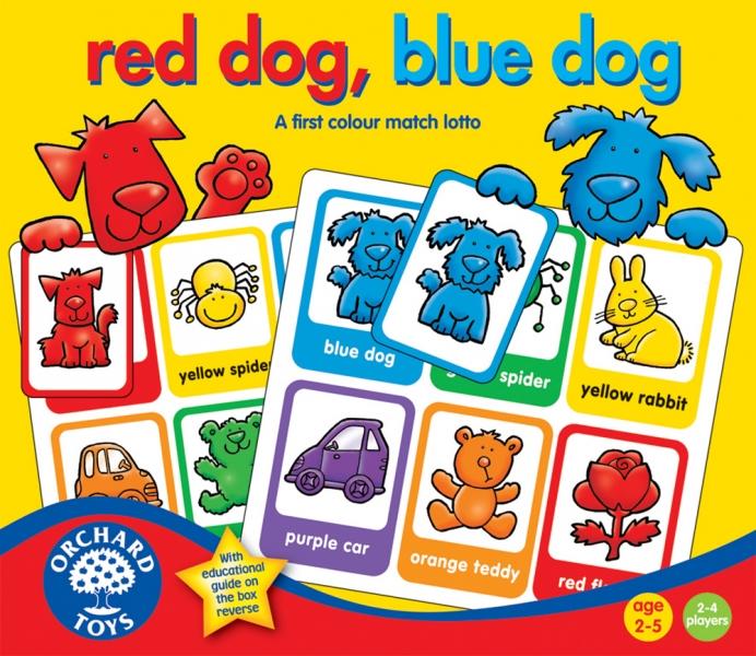 Joc educativ loto - Catelusul rosu, catelusul albastru (044)