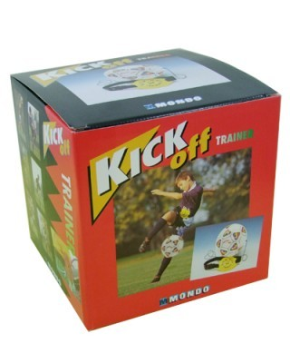 Jucarie minge fotbal cu snur si centura pentru antrenament Kick Off imagine