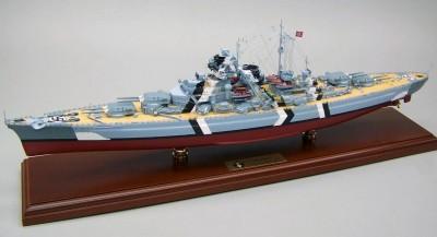 Kit constructie Macheta Bismark mare