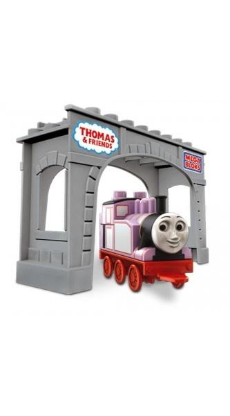 Locomotiva Rosie cu pod Mega Bloks
