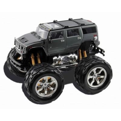 Masina cu telecomanda Hummer H2 cu roti mari baterii incluse 116