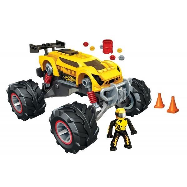 Mega Bloks Super Blitzen Monster Traks Hot Wheels
