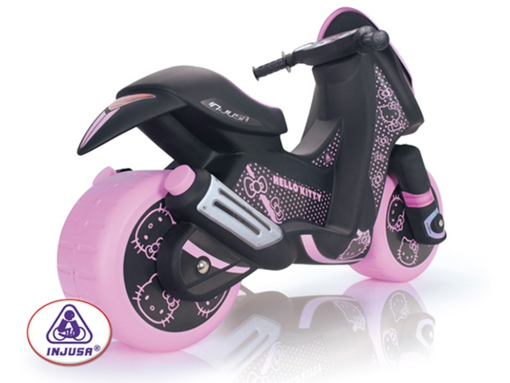 Motocicleta electrica Injusa Hello Kitty 6V