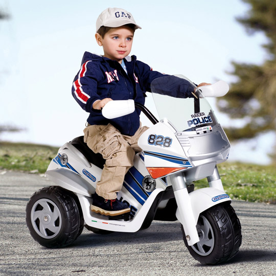 Motocicleta electrica Raider Police Polizei